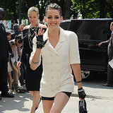 Kristen Stewart bei der Paris Fashion Week
