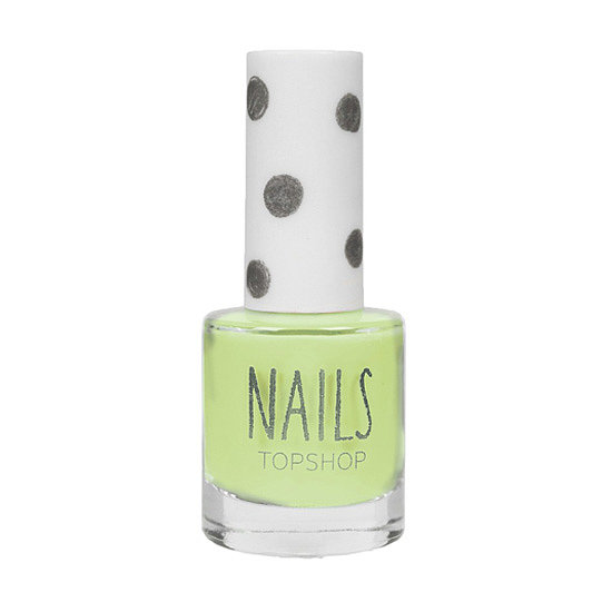 Give your tips a splash of lime with the summery Topshop Nail Lacquer in Venus Flytrap ($10).