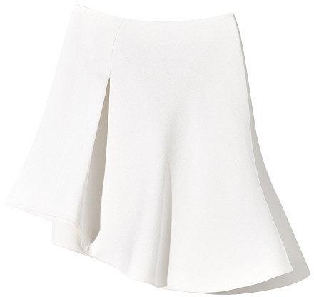 MUGLER White Skirt