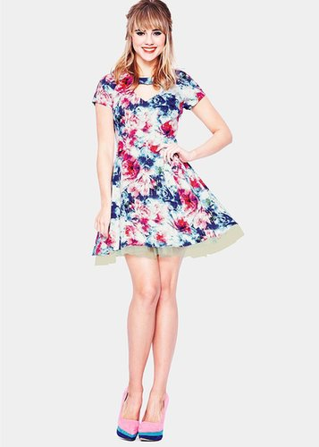 Jameela Jamil Floral Printed Dress