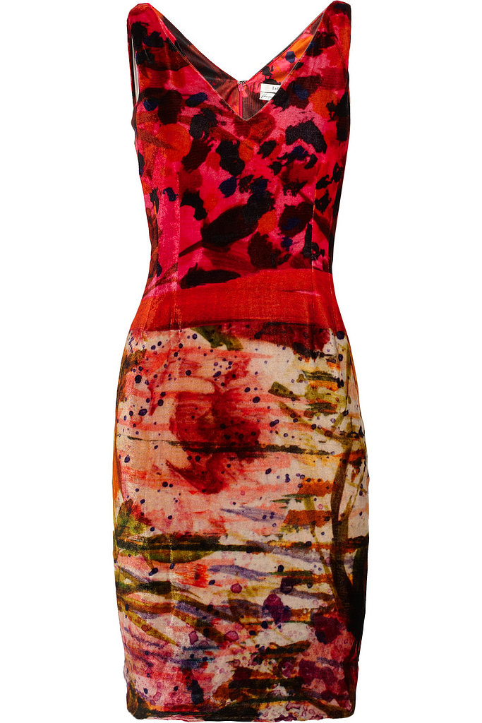 Gail Printed Velvet Dress ($569, originally $1,430)