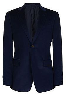 Gucci GUCCI Suede Elbow Patch Cord Jacket