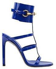 Gucci GUCCI Patent Cage Sandal