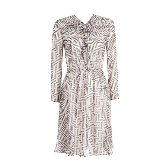 This dress is cool yet ladylike without heading into Kate Middleton territory (sorry Kate). Add opaques and a furry coat for Winter, or team with ankle strap heels and a bare leg in Summer. Versatile (and on sale!). — Marisa, POPSUGAR publisher Dress, $247.50, Zimmermann at AusMode