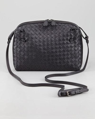 Bottega Veneta Veneta Small Crossbody Bag, Black