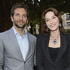 Bradley Cooper With Carla Bruni-Sarkozy | Pictures