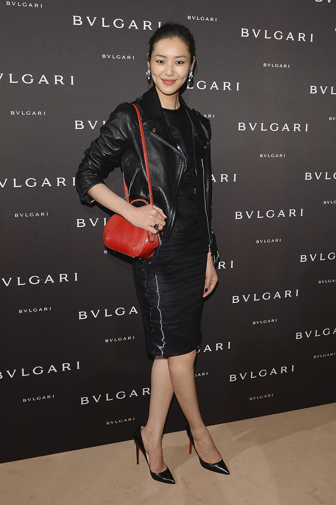 Liu Wen at the unveiling of the Bulgari Diva fine jewelry collection in Paris.  Photo courtesy of Bulgari