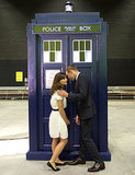 Jenna and Matt shared top-secret 50th anniversary Doctor Who spoilers — er, we imagine.