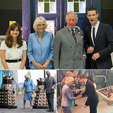Doctor Who (and Daleks) Meet the Royals