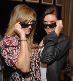 Lauren Conrad and Audrina Patridge got goofy with glasses in LA in March 2007.