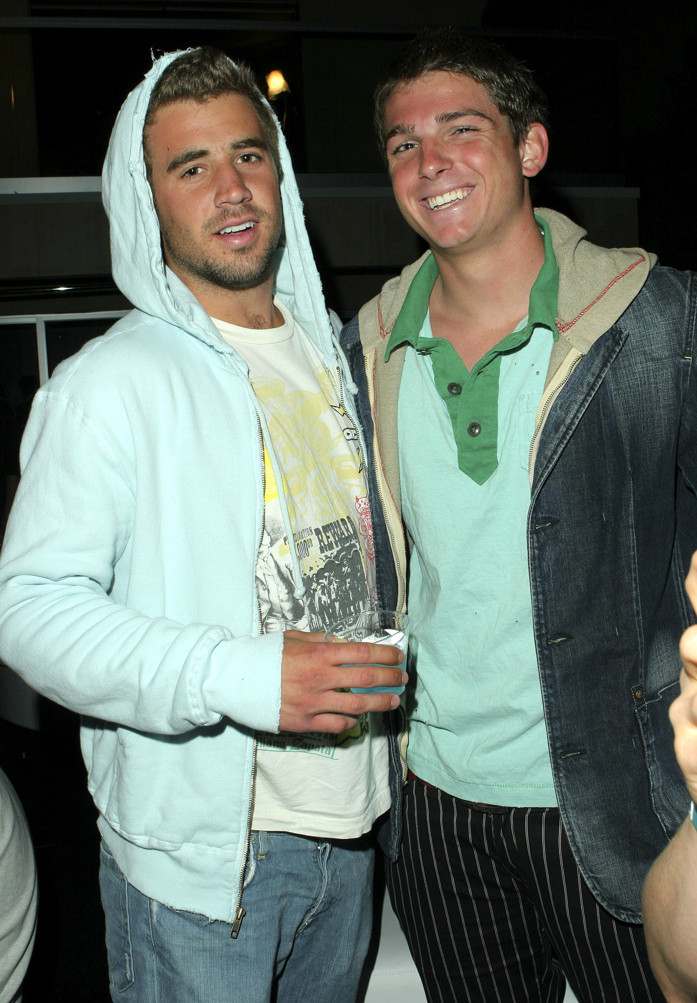 Jason Wahler and Talan Torriero partied together in LA in June 2005.