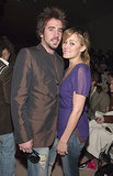 Jason Wahler joined Lauren Conrad at NY Fashion Week in March 2006.
