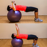 Stability Ball Bench Press