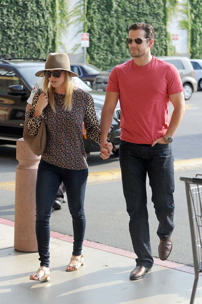 Henry Cavill and Kaley Cuoco Hold Hands in LA!