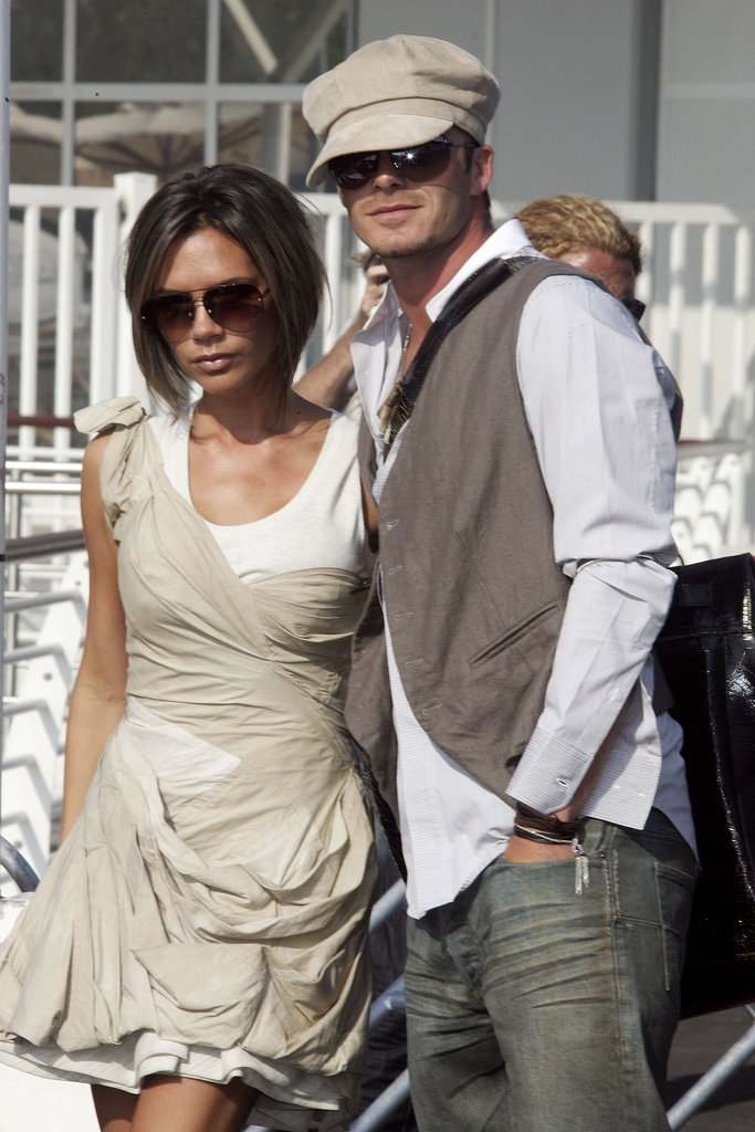 Victoria and David were snapped at the Venice Film Festival in Sept. 2006.
