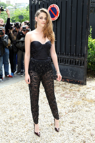Kristen Stewart Dons a Showstopping Number in Paris