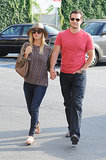 New couple Kaley Cuoco and Henry Cavill held hands as they went shopping together in Los Angeles on July 4.