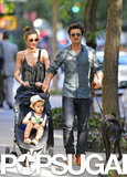 Orlando Reunites With Miranda and Flynn For a Big Apple Day