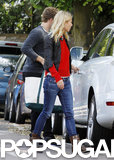 Gwyneth Paltrow went shopping with her husband, Chris Martin, in London.