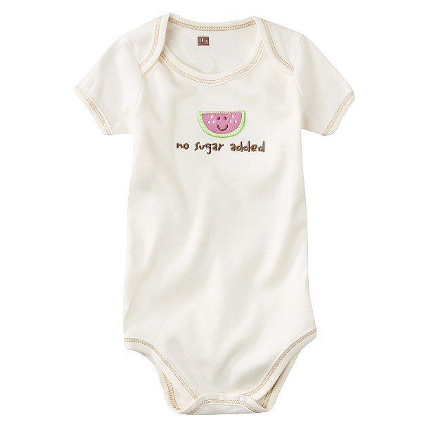 Who needs sugar when you're naturally this sweet?! Hudson Baby's Watermelon Onesie ($6) makes the everyday one-piece just a little more special.