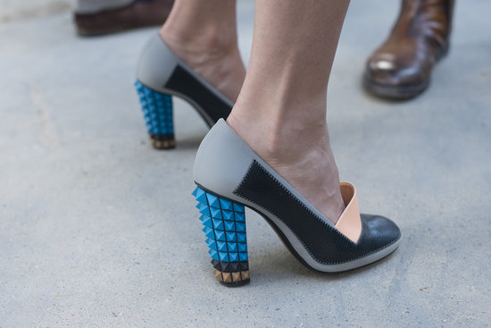 These bold, punk rock pumps remind us why we love shoes so much.