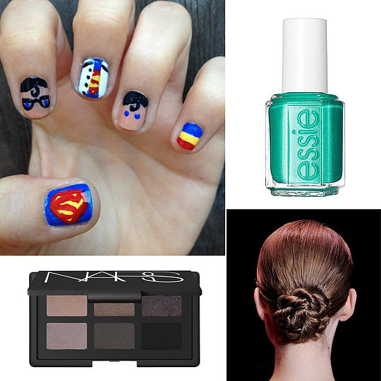 Hot on Pinterest: Superman Nail Art and Beachside Beauty Essentials