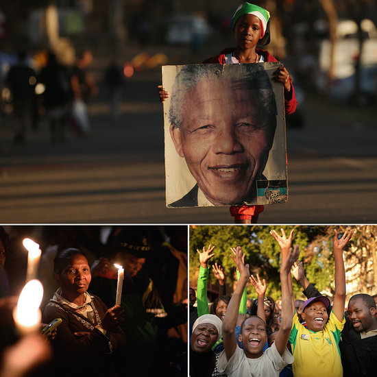 More Nelson Mandela Supporters Gather in South Africa