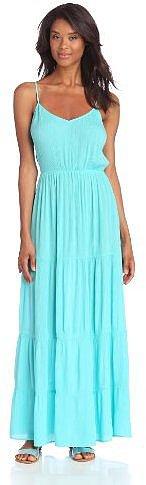 eight sixty Women's Tiered Gauze Maxi Dress