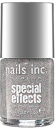 nails inc. Special Effects Electric Lane Holographic Glitter Top Coat