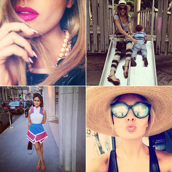 Fashion & Beauty Candids: Lara, Jesinta, Miroslava, Miranda & More