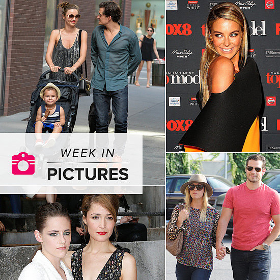 The Week in Pictures: Miranda & Orlando, Hot New Couples, Celebs at Fashion Week and More!