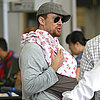 Channing Tatum Holds Baby Everly in the Airport | Pictures