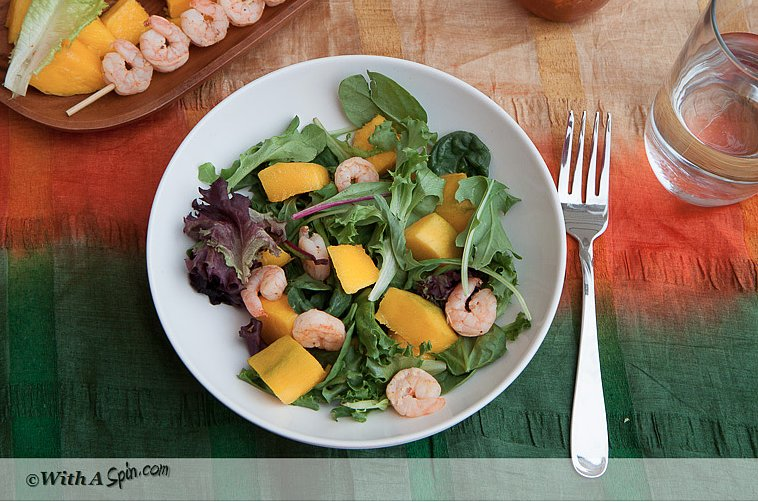 Tangy Shrimp and Mango Salad