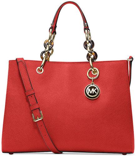 MICHAEL Michael Kors Handbag, Cynthia Medium Satchel