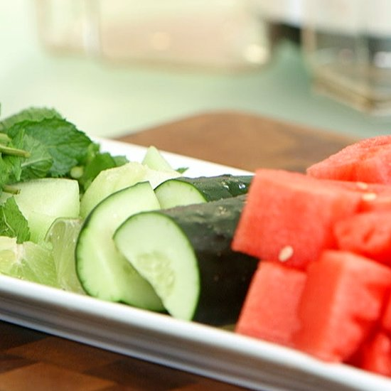 Healthy Juice Recipes: Watermelon and Cucumber Juice