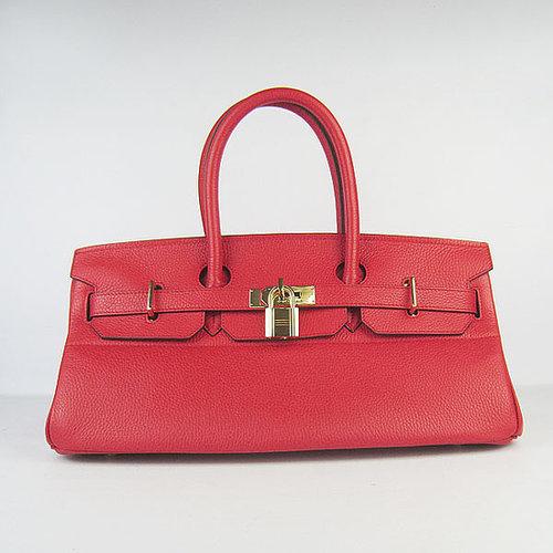 Hermes Birkin 42 Togo leather Gold Hardware (Red)-www.versandhermes.com