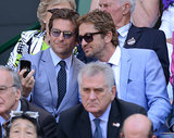 Gerard Butler and Bradley Cooper took a snap together at Wimbledon.