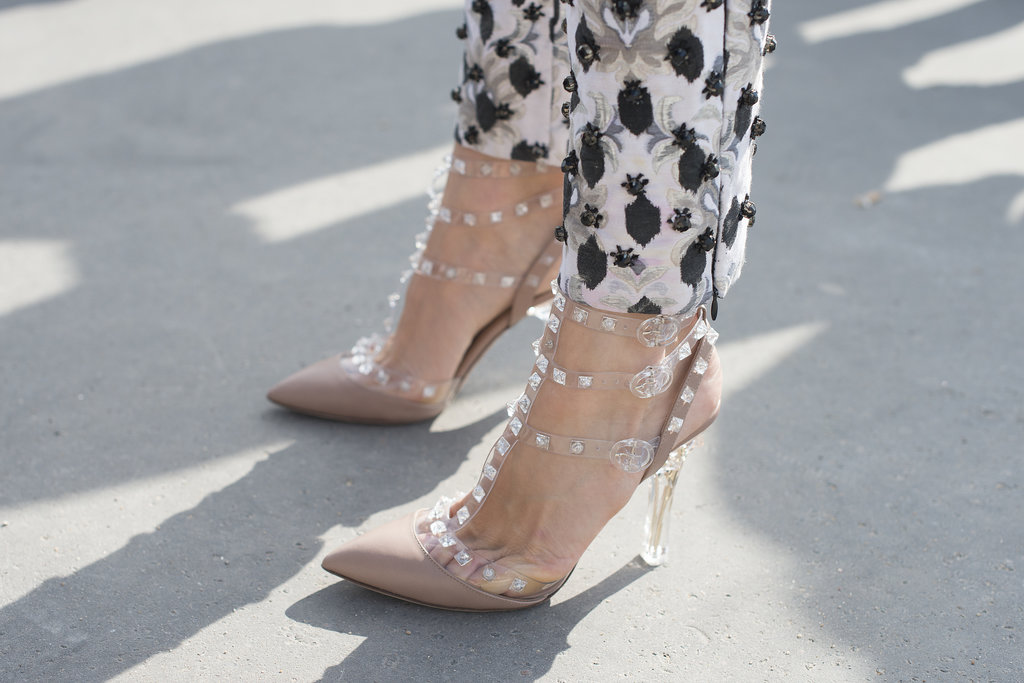 What's not to love about these studded and strappy Valentino heels?