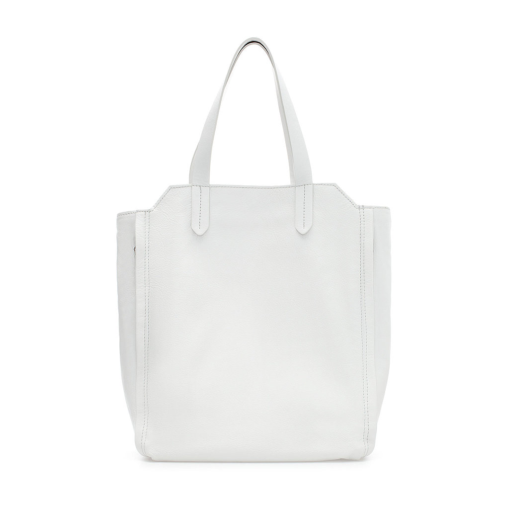 Roomy but sleek, Zara's Leather Shopper With Zips ($100) solves any Summer work tote dilemma.