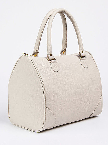This ultra-ladylike American Apparel Leather Everyday Bag ($145) gets a modern update in a fresh white hue.