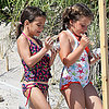 Katie Holmes and Suri Cruise at the Beach | Pictures
