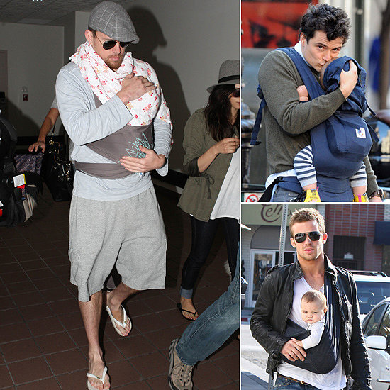 16 Baby-Wearing Celebrity Dads