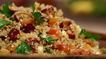 A Farmers Market Fresh Quinoa Cherry Salad