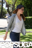 Kristen Stewart Gets Back to Work in Her Signature Style