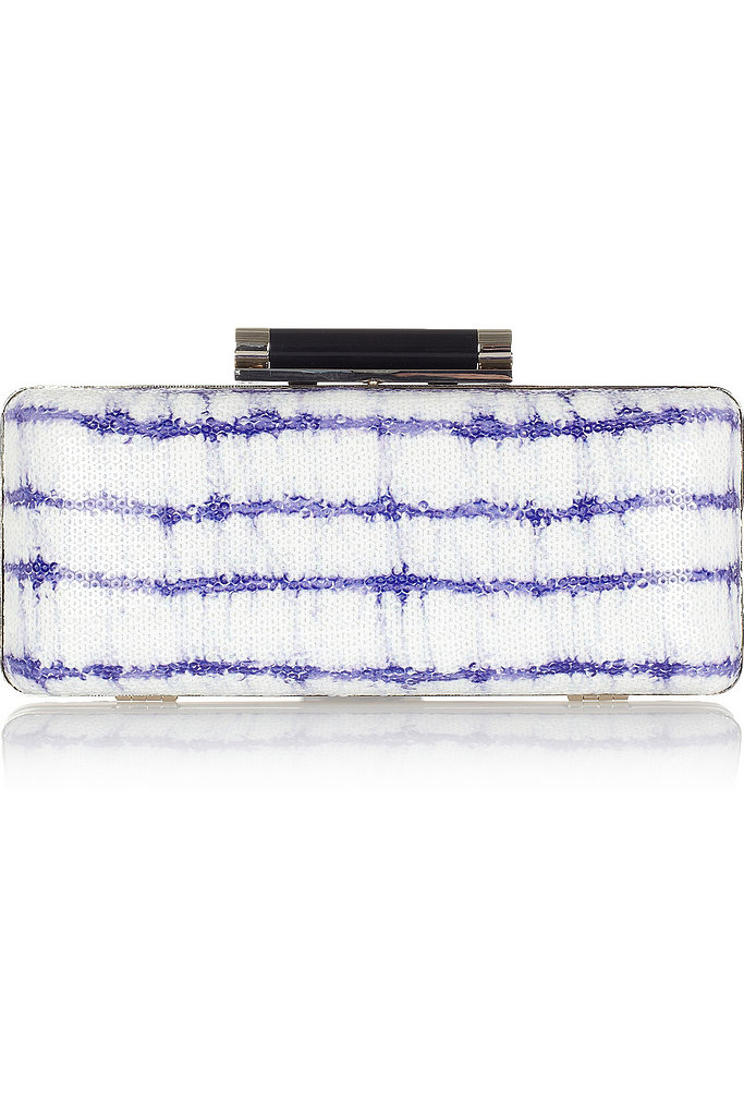Tie-dye feels ultra-glam when done in sequins like this party-perfect Diane von Furstenberg clutch ($170, originally $340).