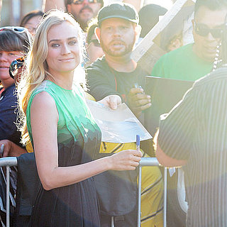 All Angles: Diane Kruger's Luxe Look at The Bridge Premiere