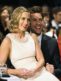 Emily sat on John's lap during the 2013 Critics' Choice Awards.
