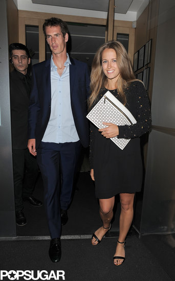 Winning Couple: Kim Sears and Andy Murray Celebrate in London