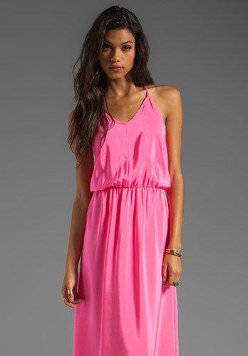 Amanda Uprichard Y-Back Maxi Dress