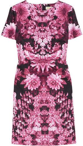 MICHAEL Michael Kors Floral-print cotton-blend mini dress